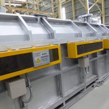 Double Track Aging Furnace